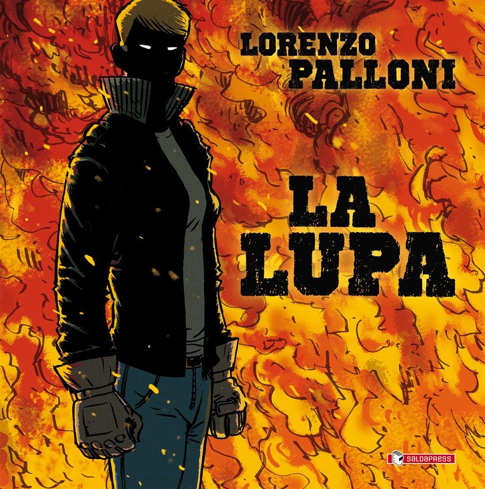 La lupa, copertina di Lorenzo Palloni