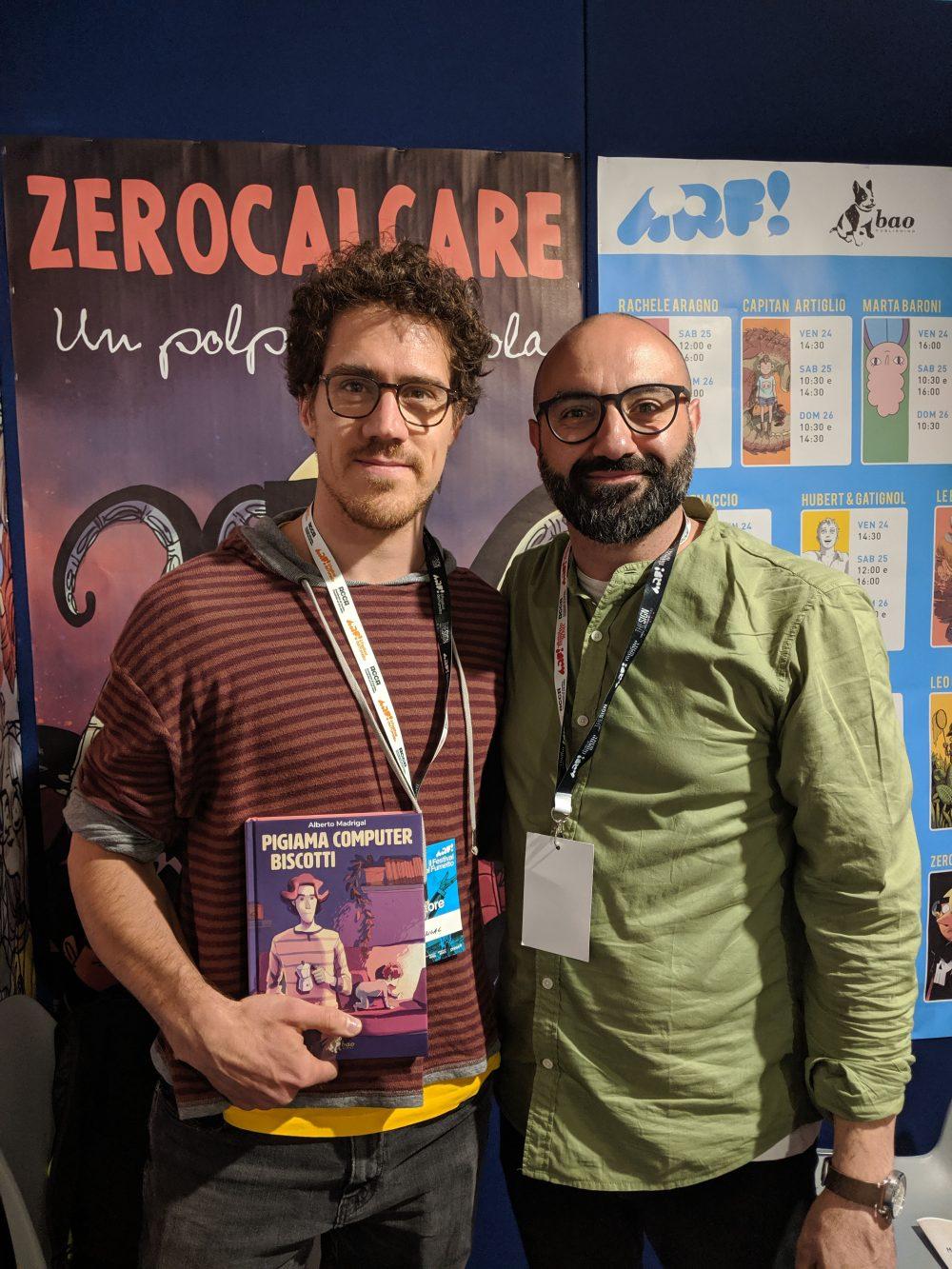 Alberto Madrigal e Pasquale Gennarelli
