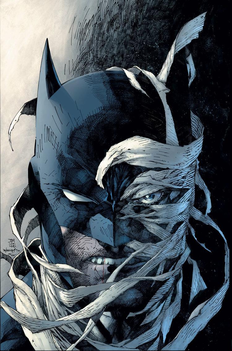 Batman: Hush, copertina di Jim Lee