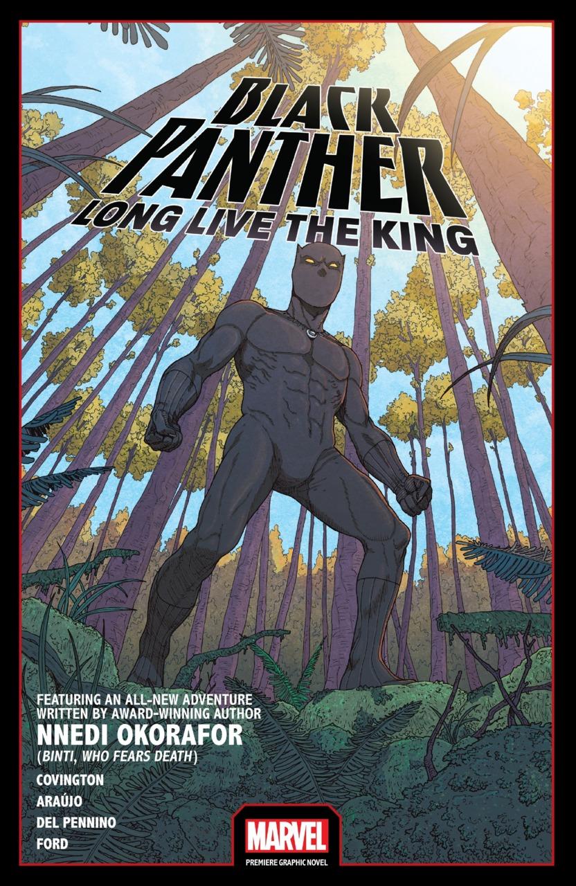 Black Panther Long Live the King, copertina di Andre Araujo