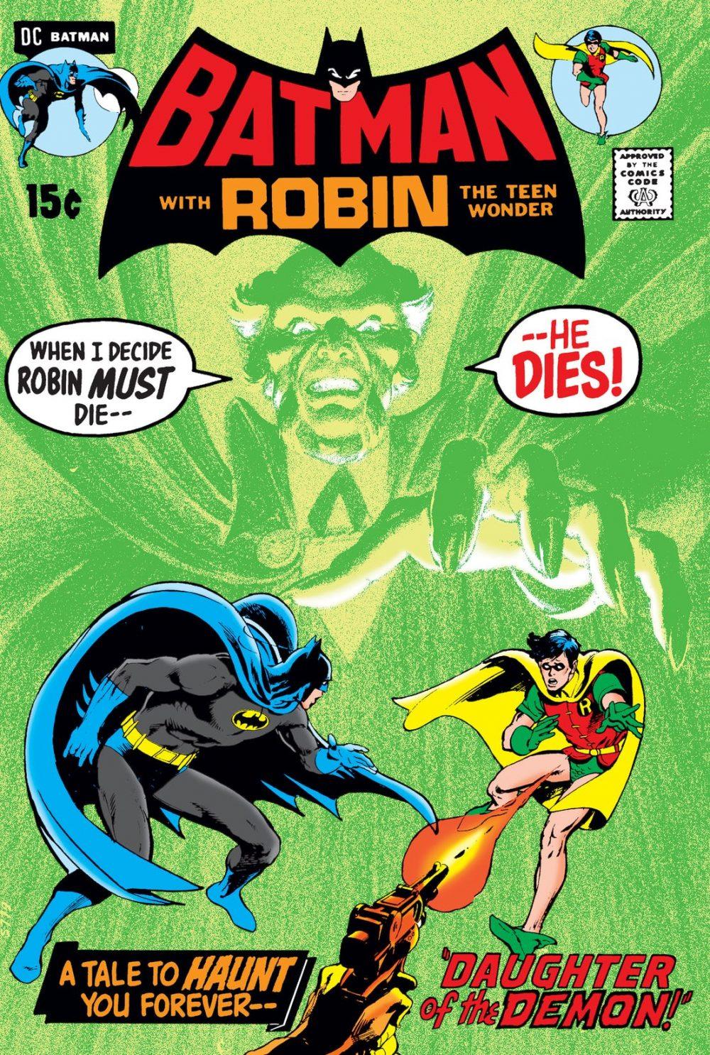 Batman #232, copertina di Neal Adams
