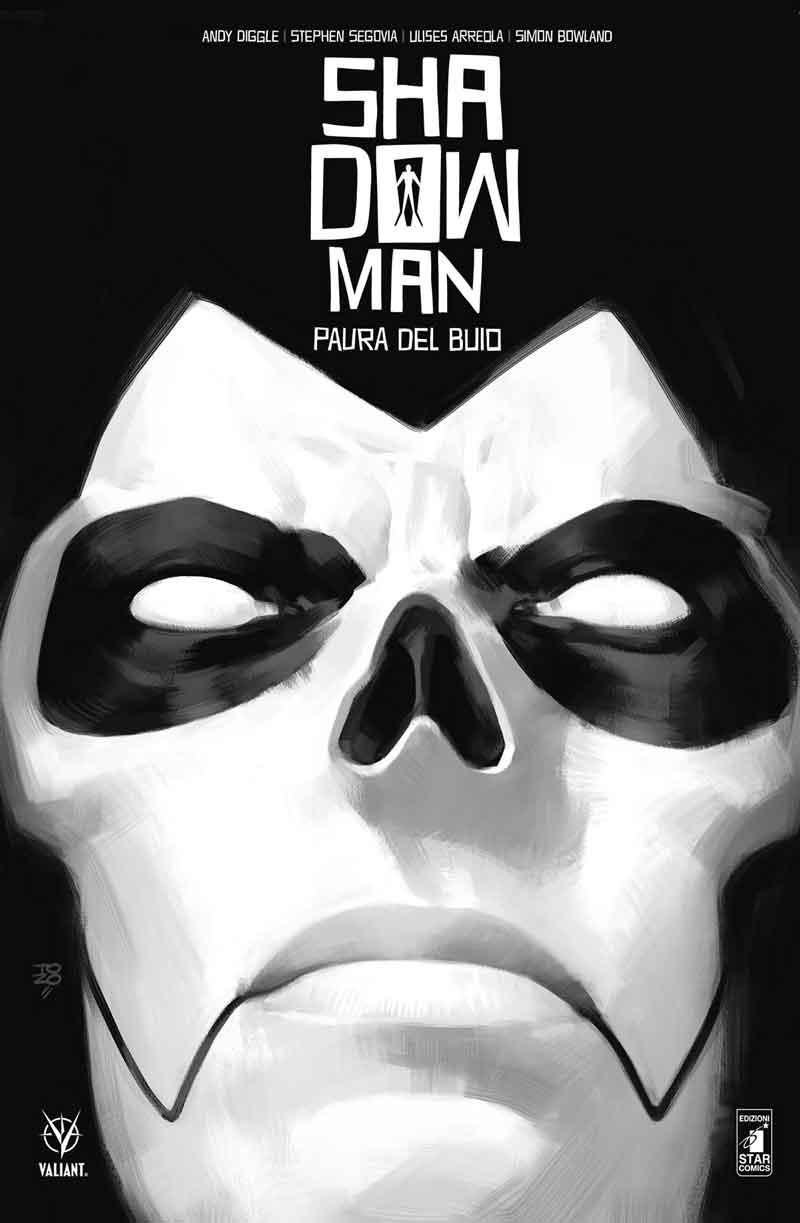 Shadowman vol. 1: Paura del buio, copertina di Tonci Zonjic