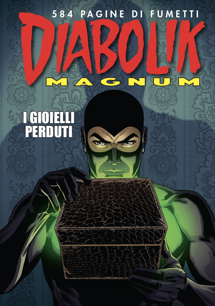 Diabolik Magnum, copertina di Giuseppe Di Bernardo