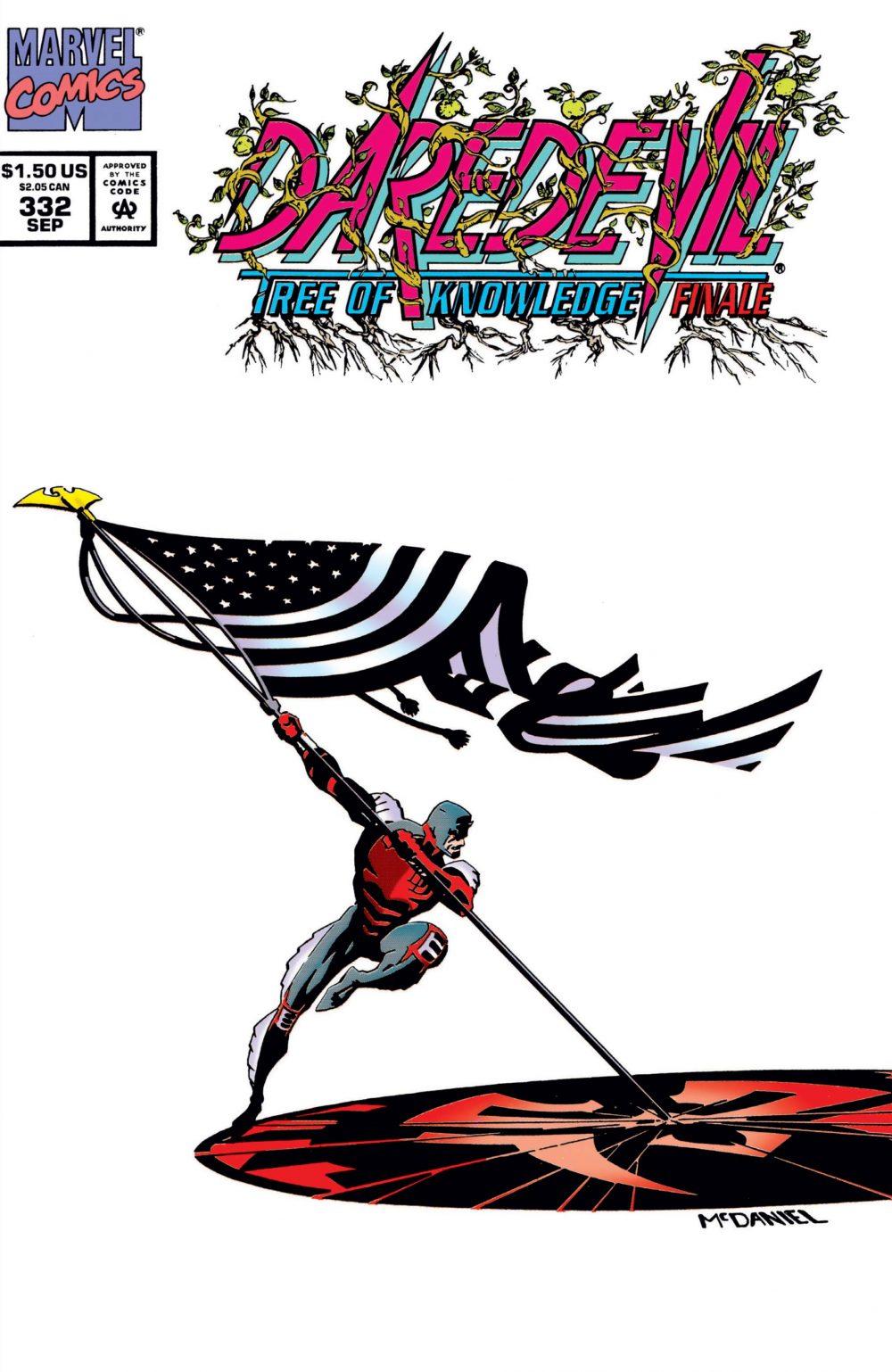 Daredevil #332, copertina