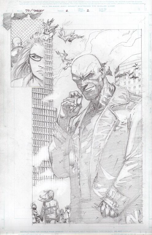 Daredevil: The Target #2, anteprima 01