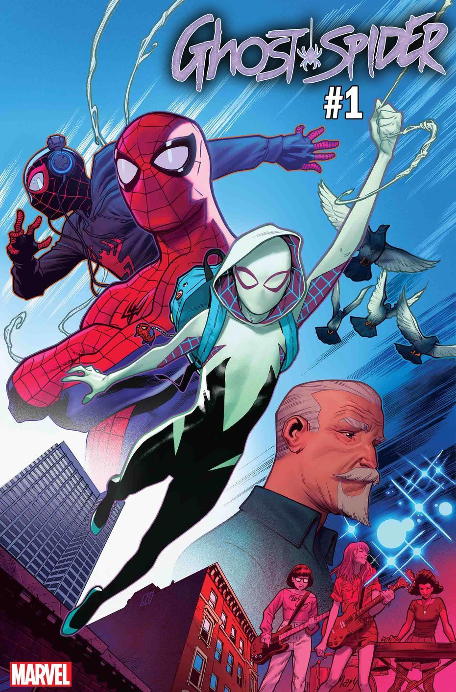 Ghost-Spider #1, copertina di Jorge Molina