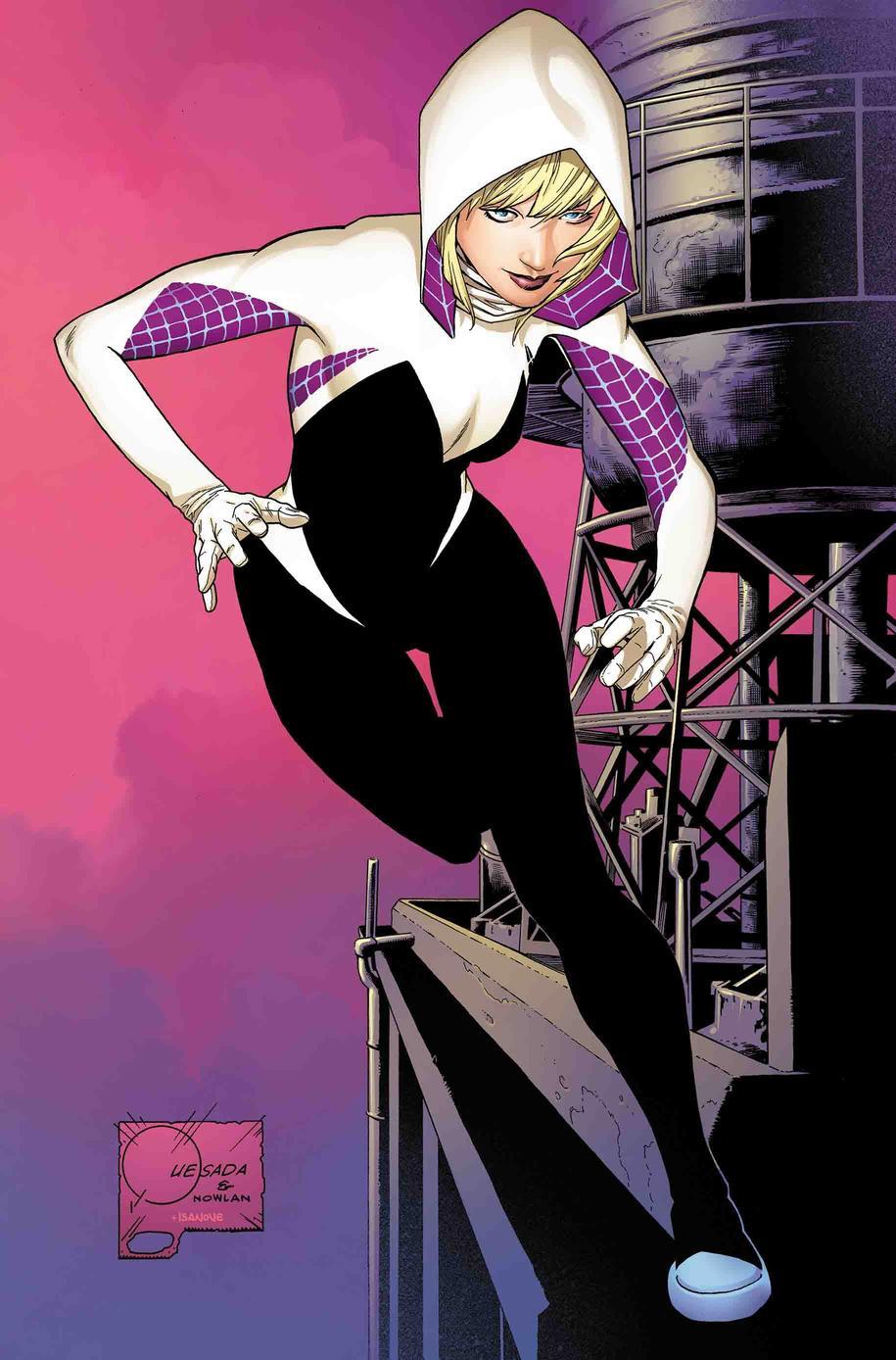 Ghost-Spider #1, variant cover di Joe Quesada