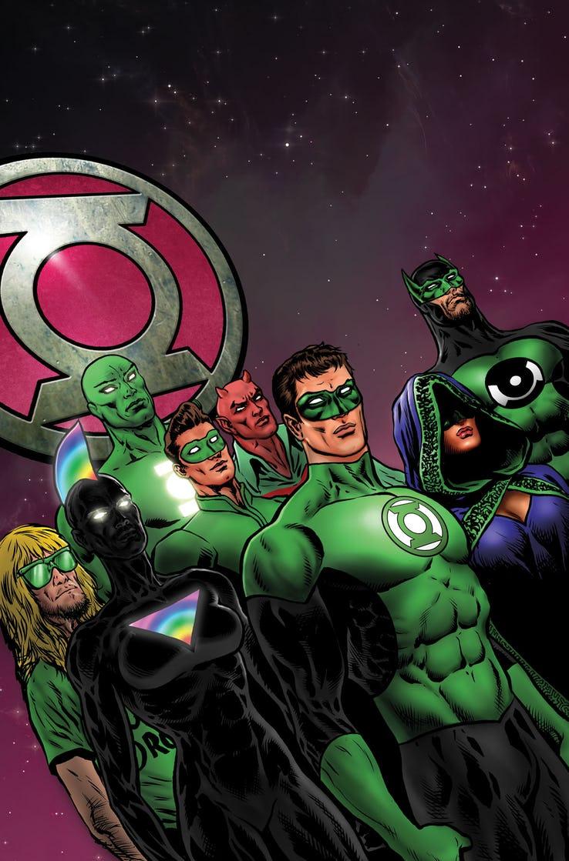 Green Lantern #10, copertina di Liam Sharp