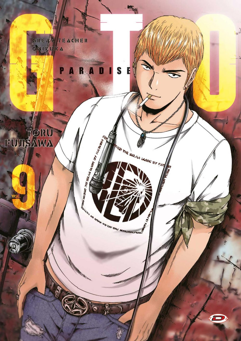 GTO Paradise Lost 9, copertina