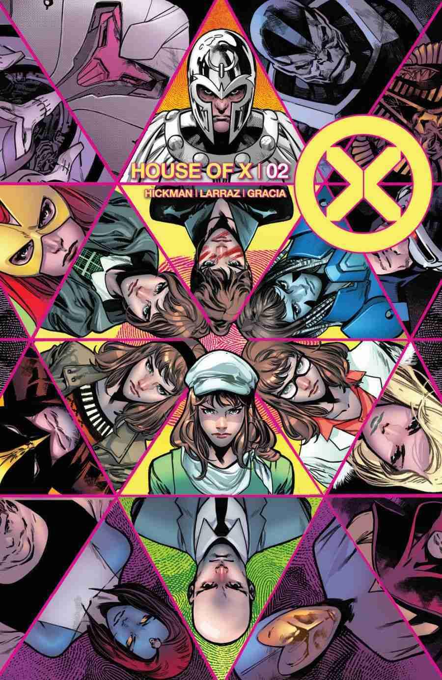 House of X #2, copertina di Pepe Larraz