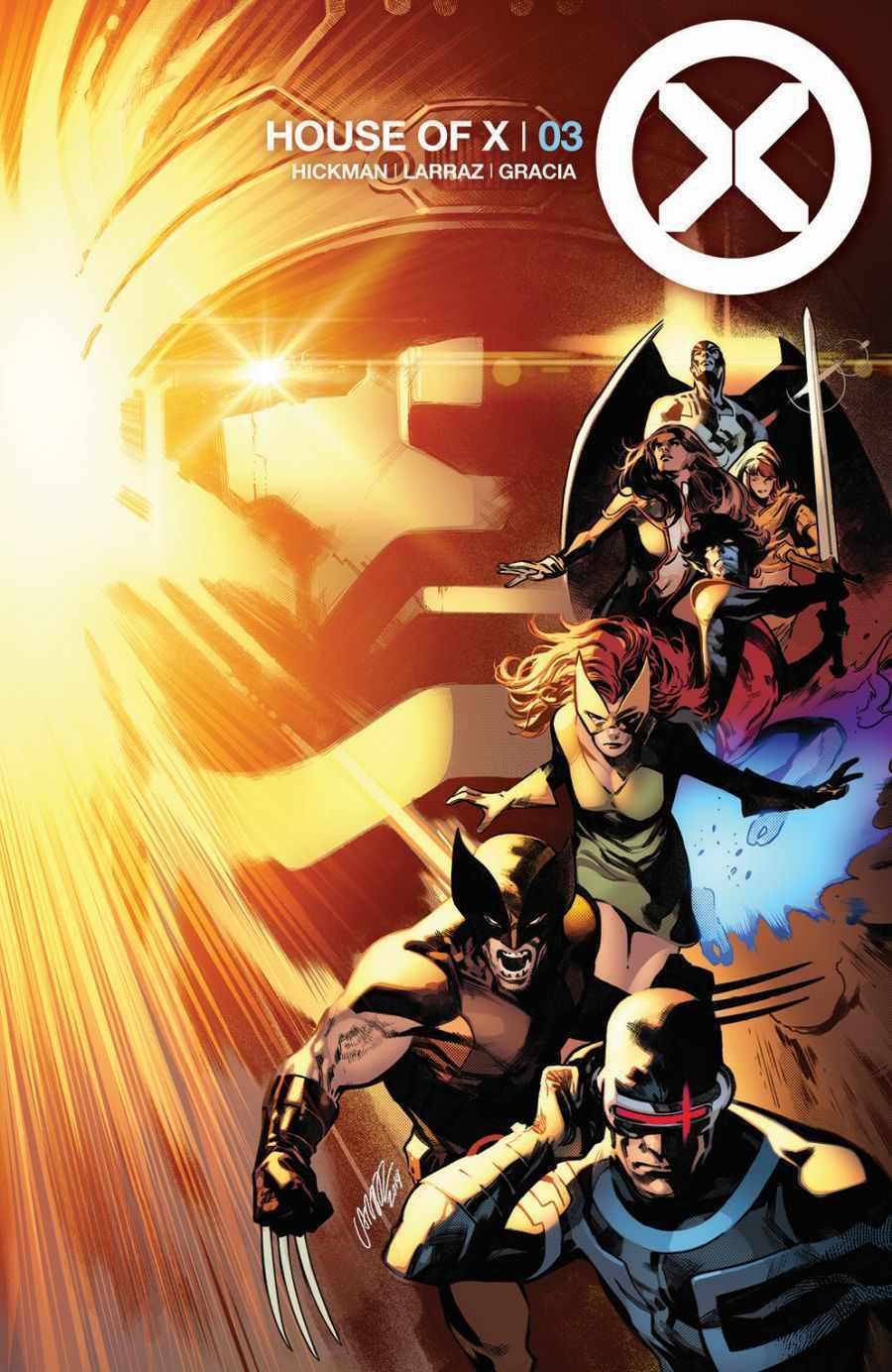 House of X #3, copertina di Pepe Larraz