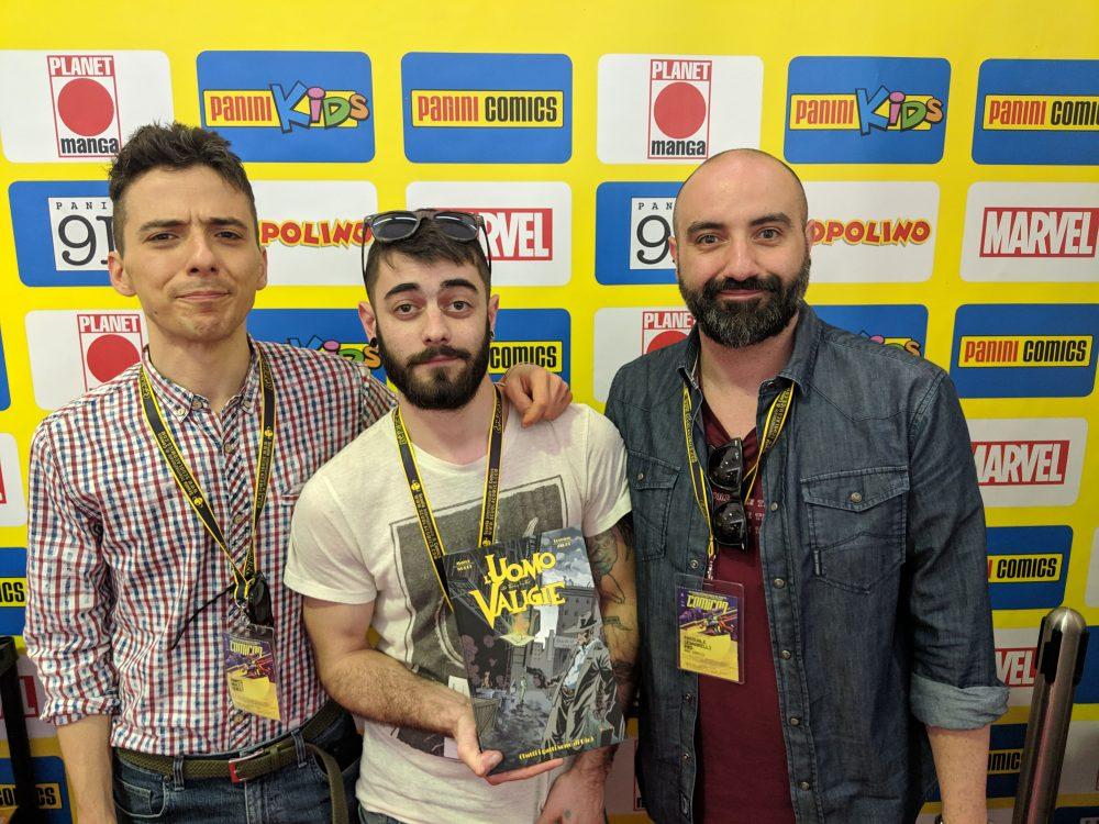 Marco Nucci, Lorenzo Zaghi e Pasquale Gennarelli