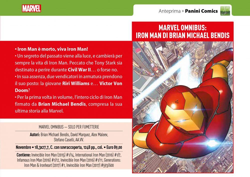 Iron Man di Brian Michael Bendis su Anteprima