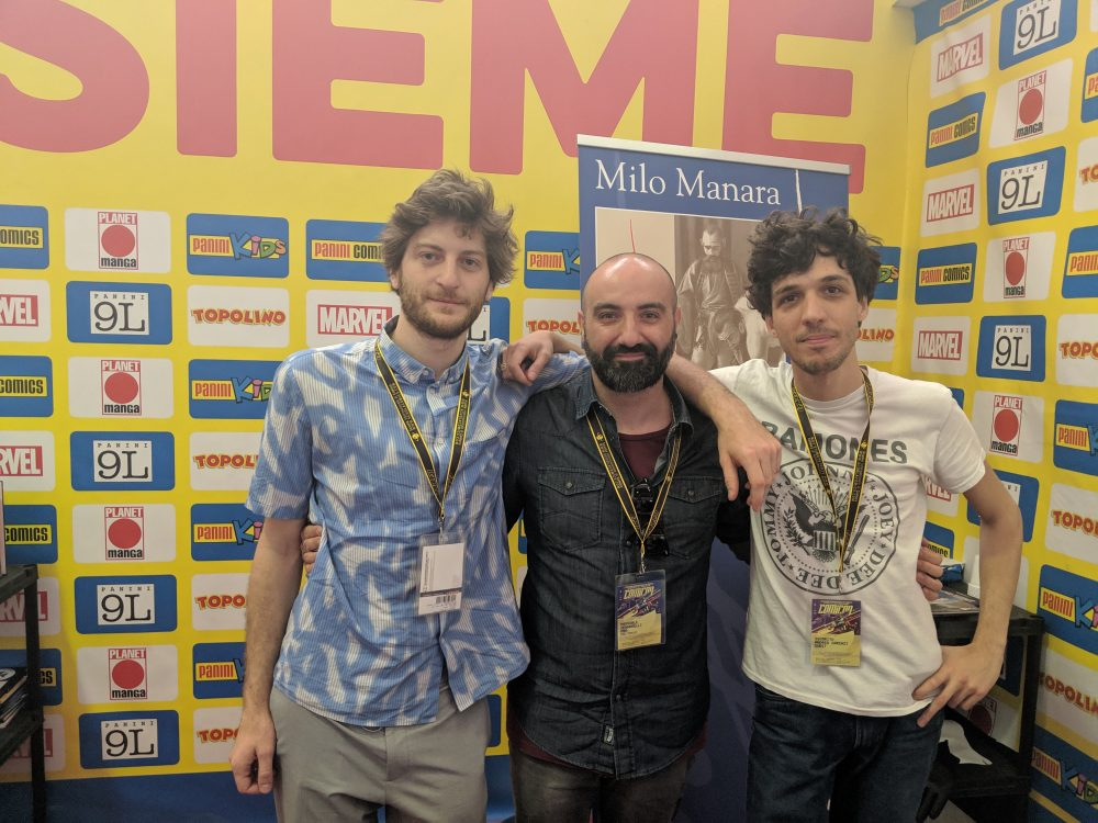Isaak Friedl, Pasquale Gennarelli e Oscarito