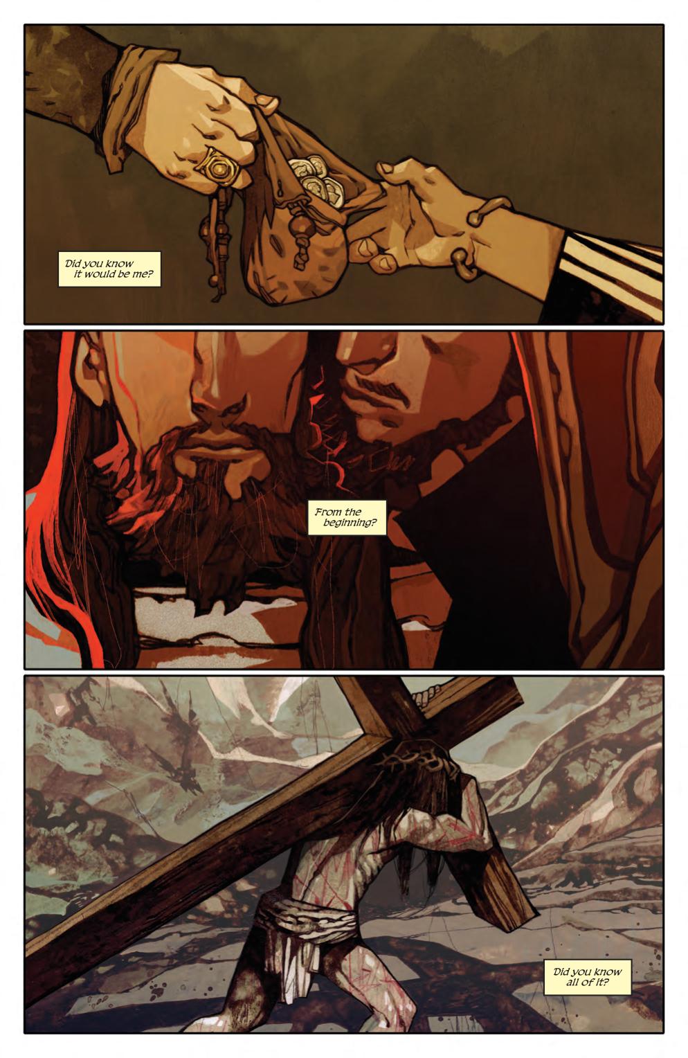 Judas #1, anteprima 01