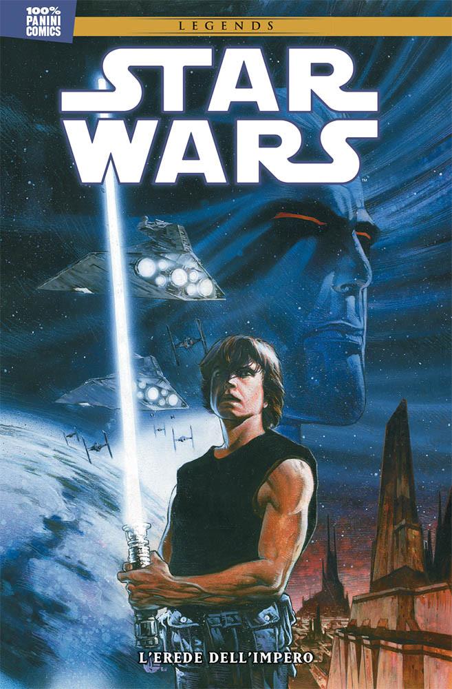 L'erede dell'Impero, copertina di Mathieu Lauffray