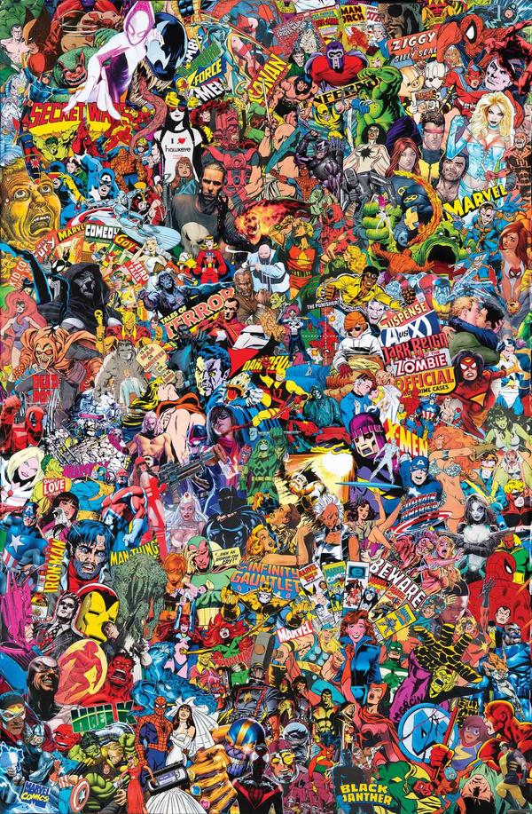 Marvel Comics #1000, variant cover di Mr. Garcin
