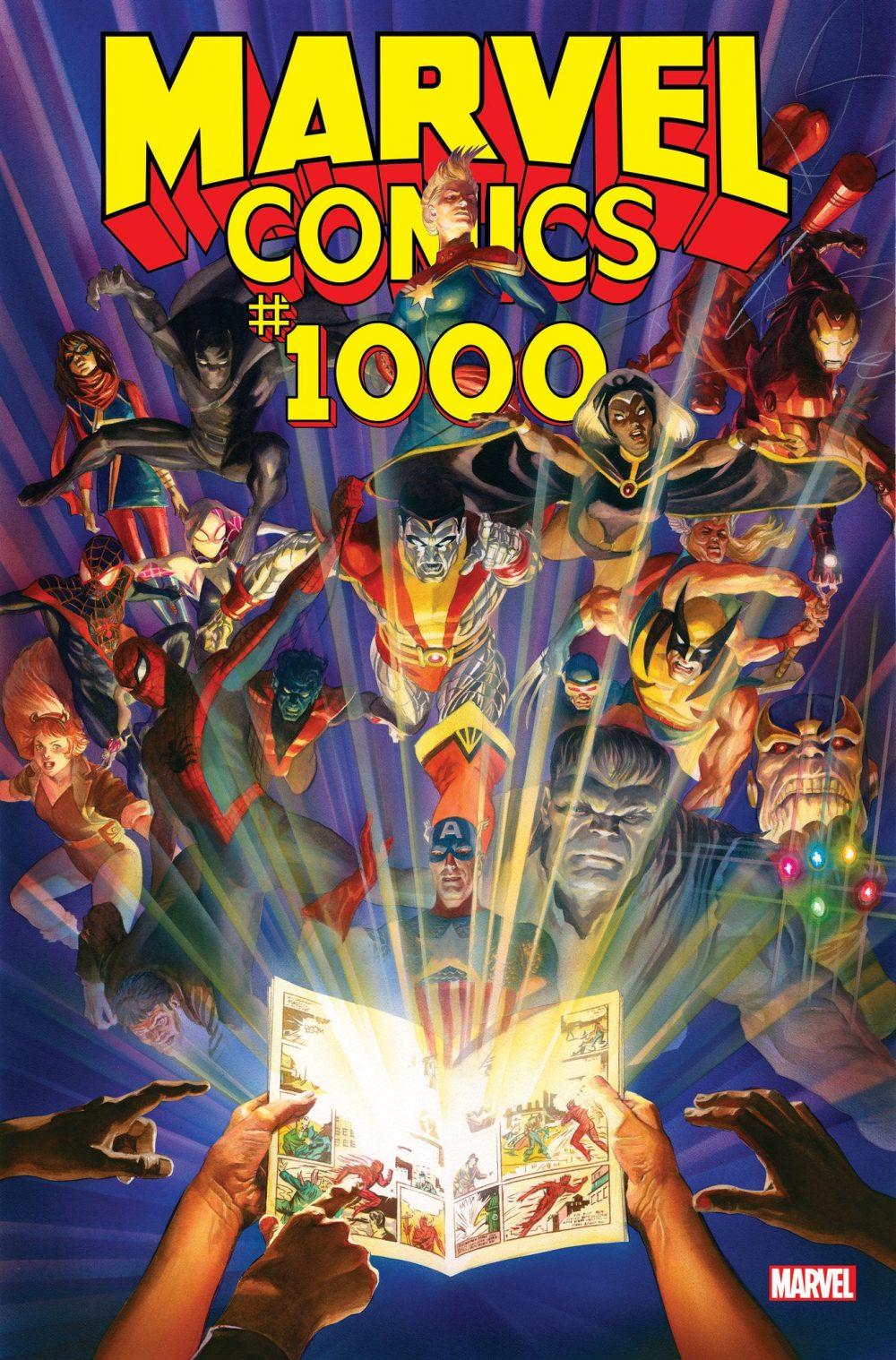 Marvel Comics #1000, copertina di Alex Ross