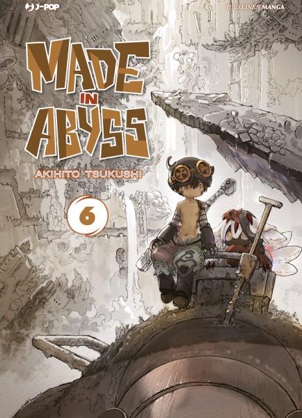 Made in Abyss 6, copertina di Akihito Tsukushi