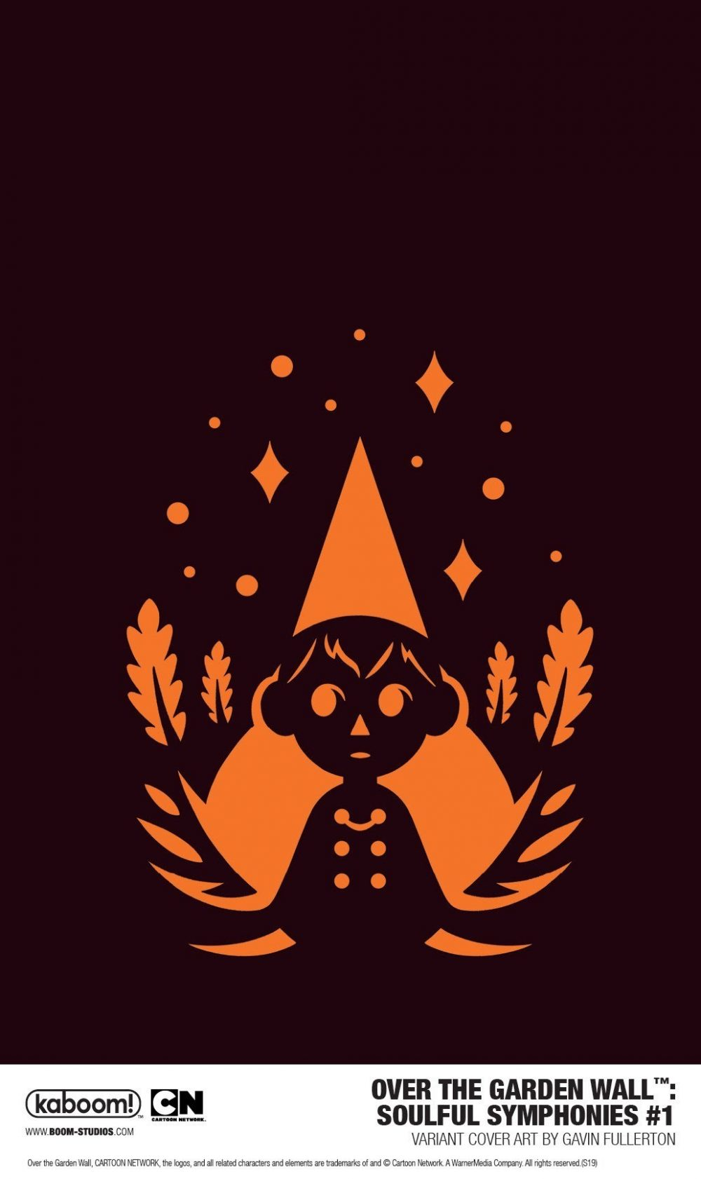 Over the Garden Wall: Soulful Symphonies, variant cover di Gavin Fullerton