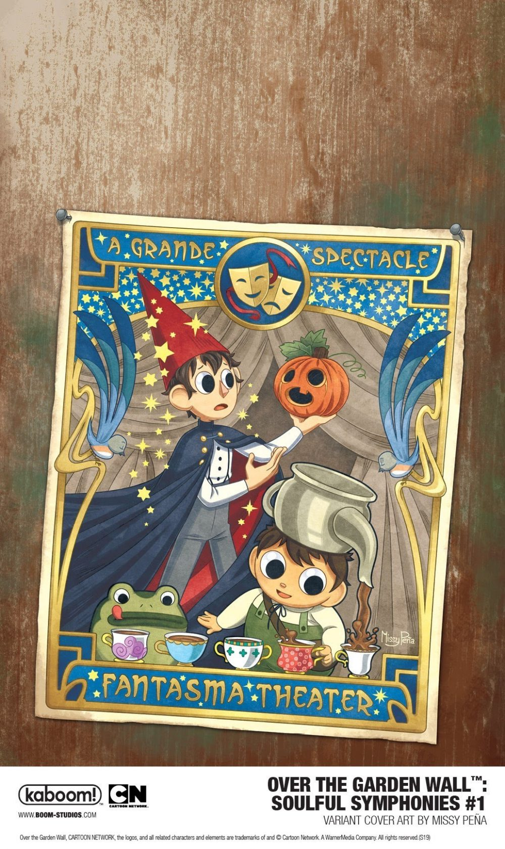 Over the Garden Wall: Soulful Symphonies, variant cover di Missy Pena