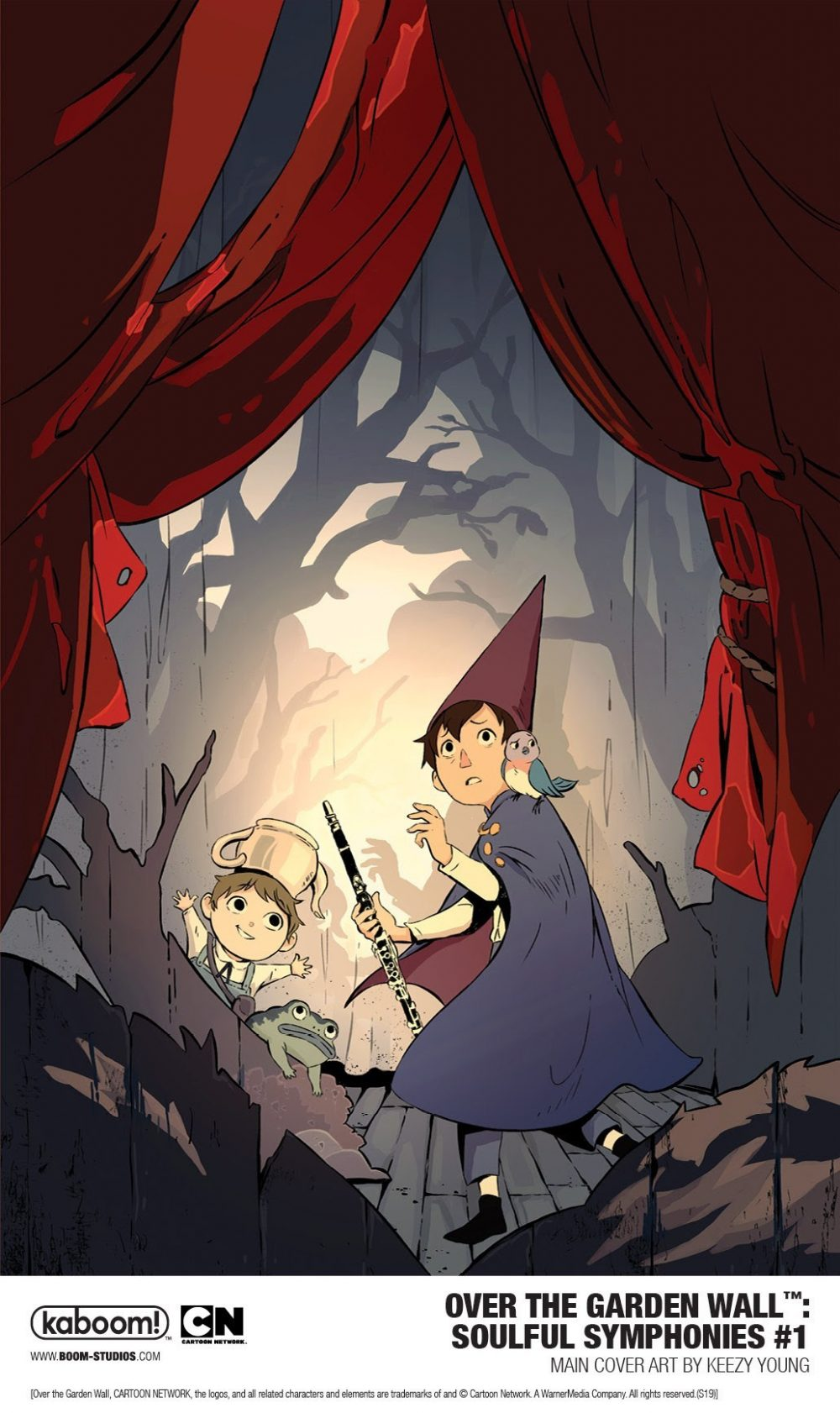 Over the Garden Wall: Soulful Symphonies, copertina di Keezy Young