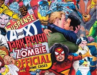 Marvel Comics #1000, dettaglio della variant di Mr. Garcin