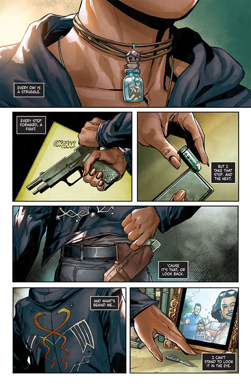 Shadowman #1, anteprima 01