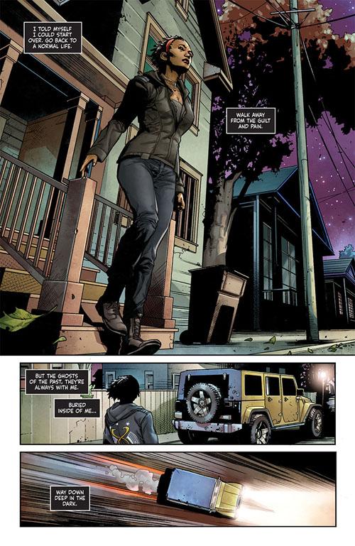 Shadowman #1, anteprima 02