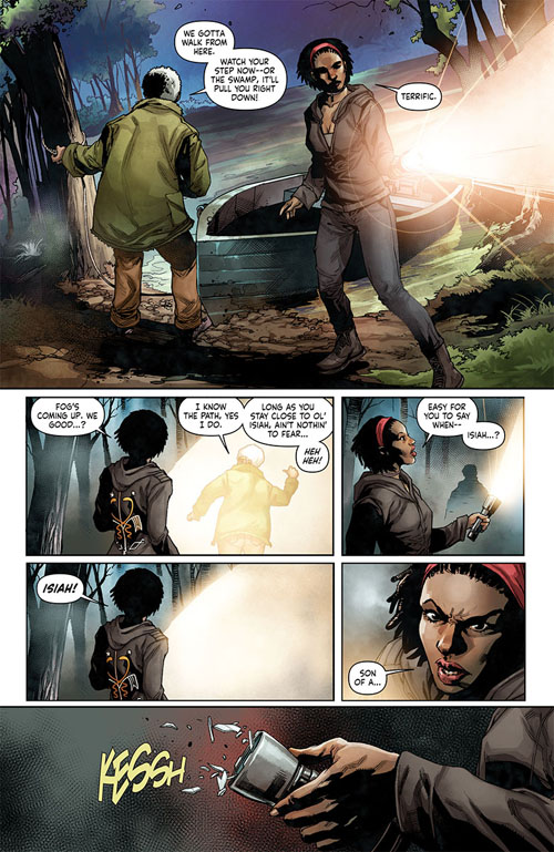 Shadowman #1, anteprima 05