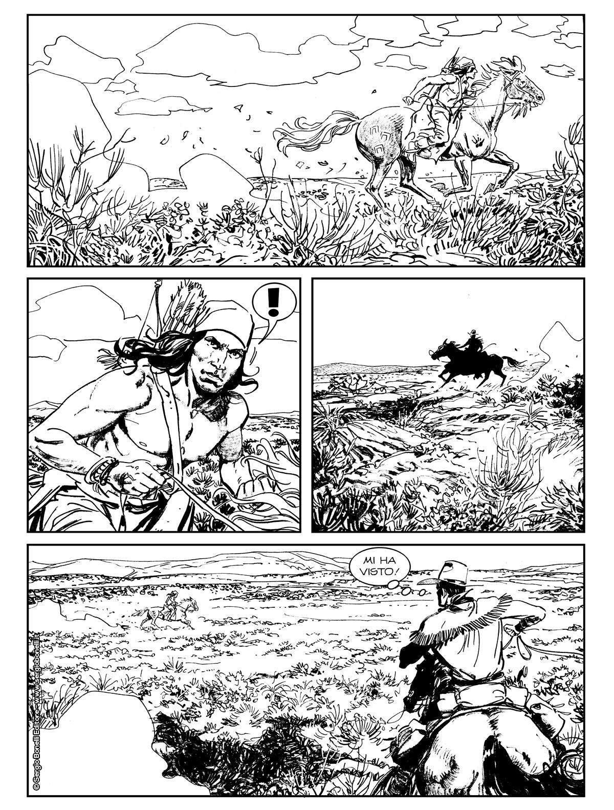 Tex Willer 6: Coyoteros, anteprima 02