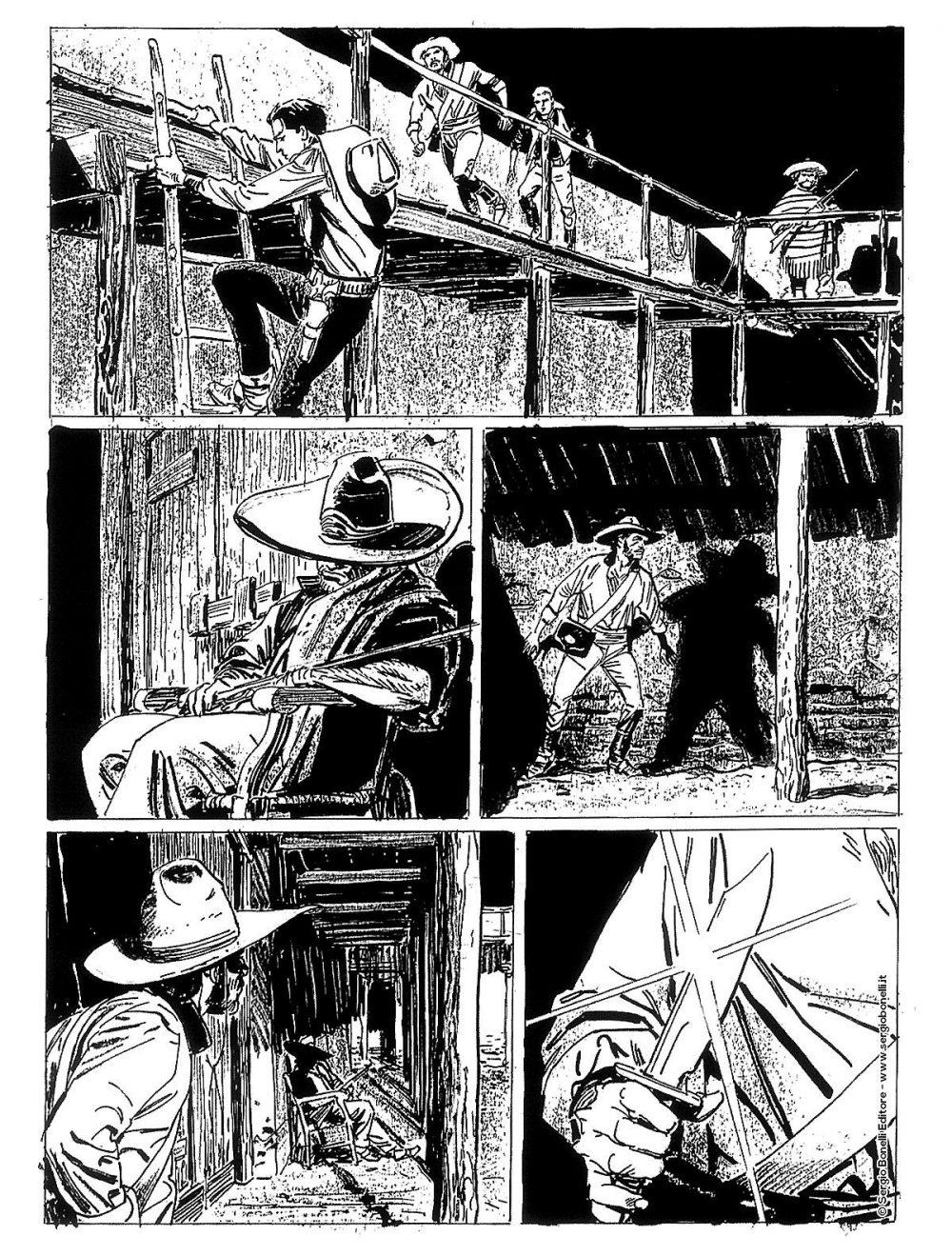 Tex Willer 7: Rancho Sangriento, anteprima 03