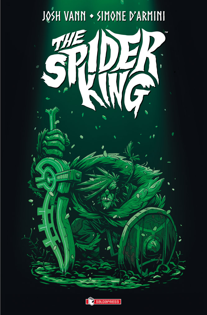 Spider King - Il Re Ragno, copertina di Simone D'Armini