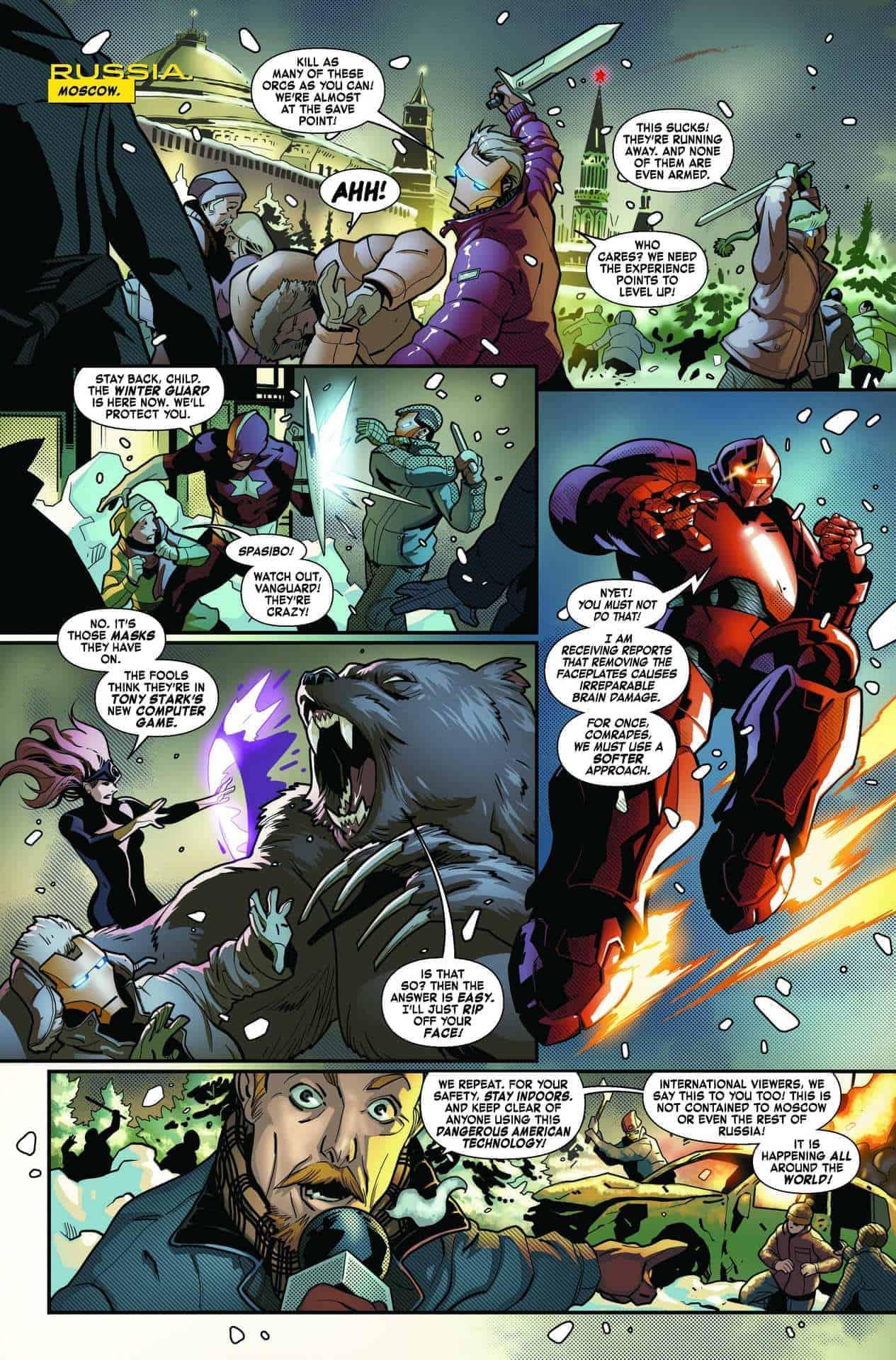 Tony Stark: Iron Man 8, anteprima 01
