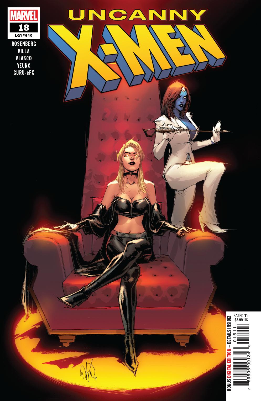 Uncanny X-Men #18, copertina di Whilce Portacio