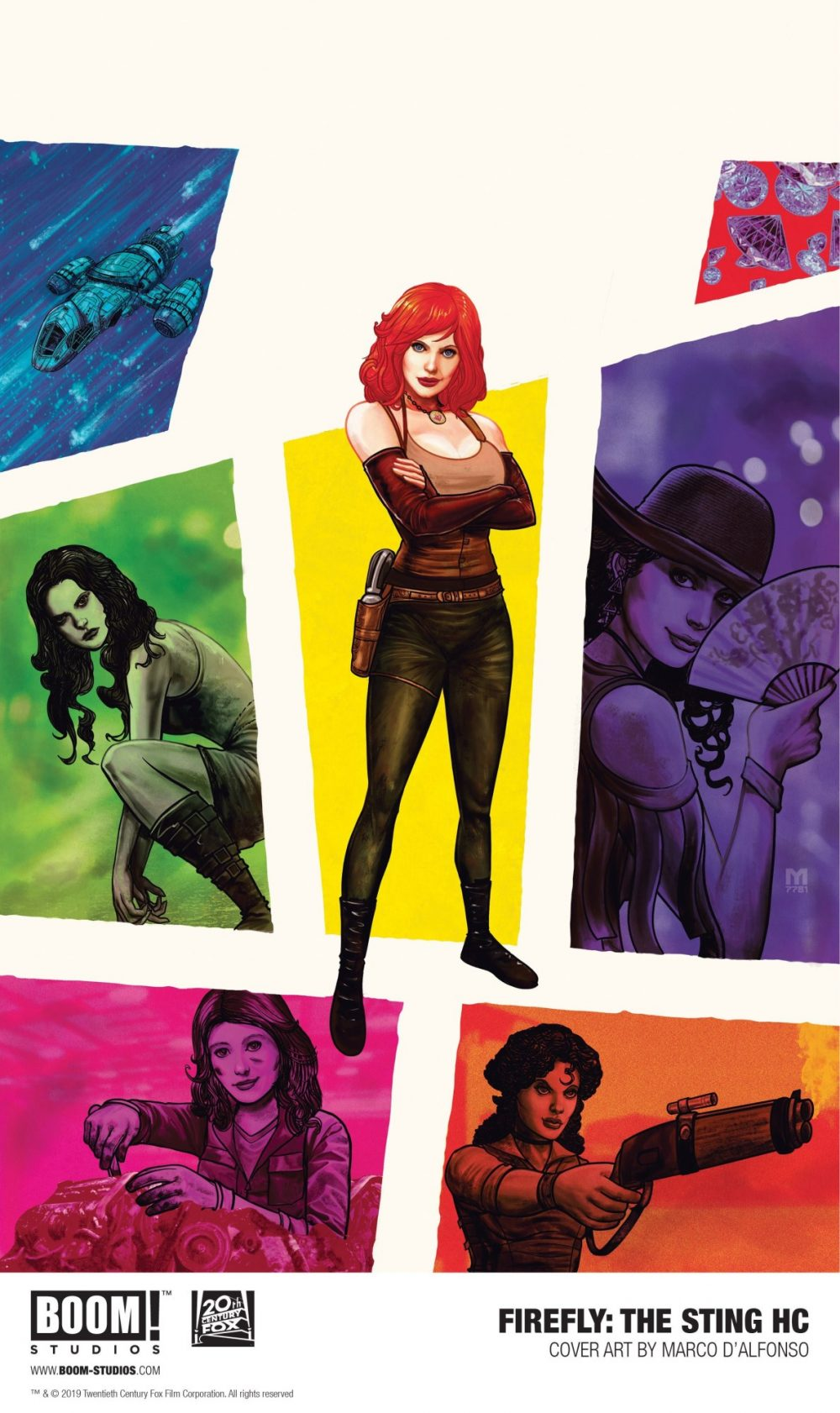 Firefly: The Sting, copertina di Marco D'Alfonso
