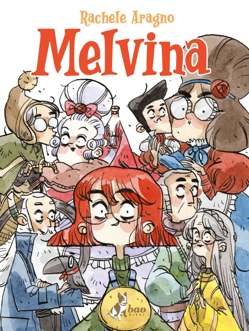 Melvina, copertina di Rachele Aragno