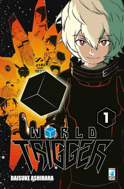 World Trigger 1, copertina