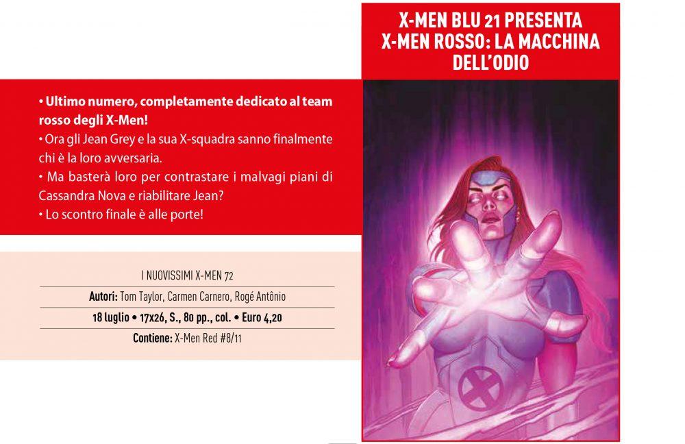 X-Men Blu su Anteprima