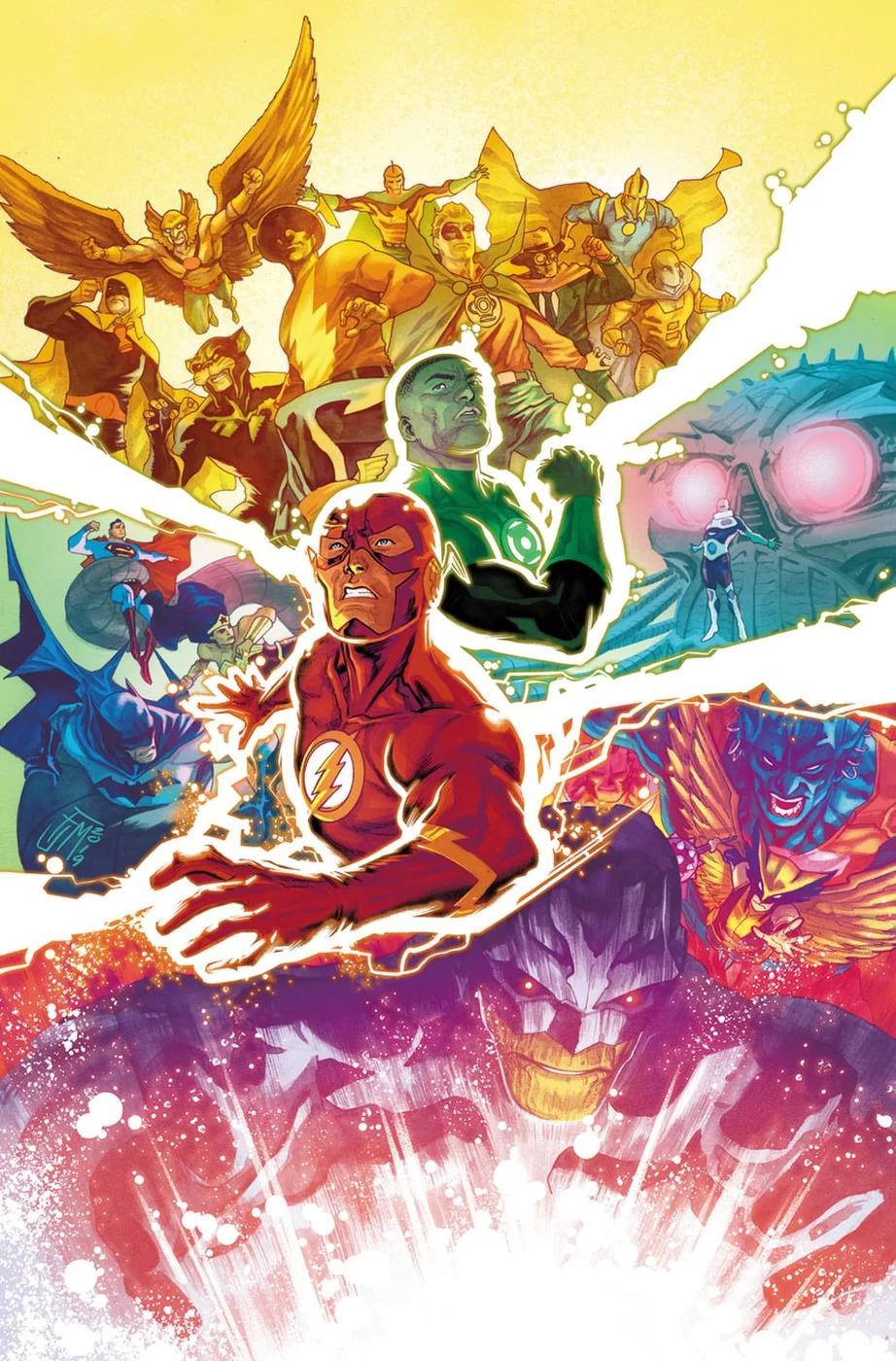 Justice League, copertina di Francis Manapul
