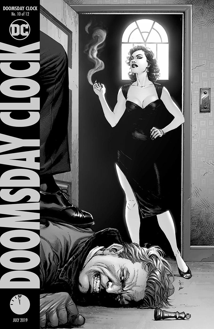 Doomsday Clock #10, copertina di Gary Frank