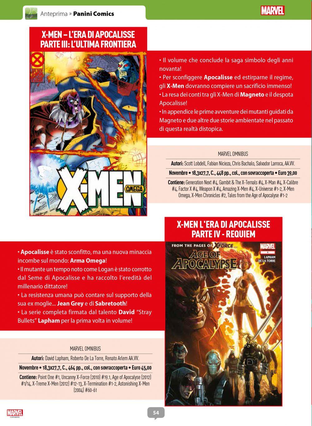 Cofanetto X-Men: L'Era di Apocalisse su Anteprima