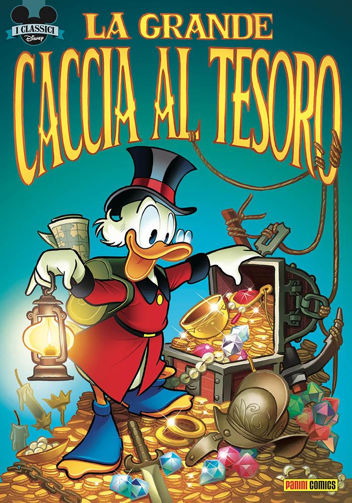 I Classici Disney 1: La grande caccia al tesoro, copertina di Andrea Freccero
