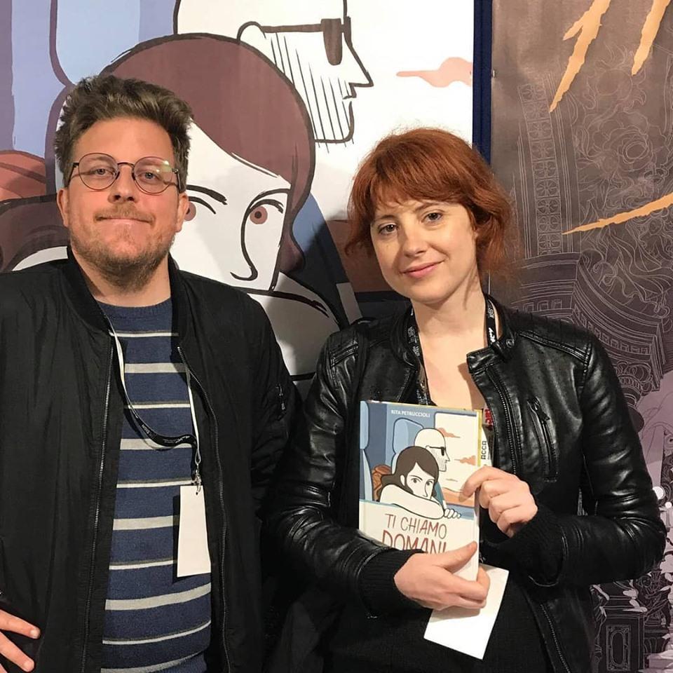 Mirko Tommasino e Rita Petruccioli ad ARF! 2019