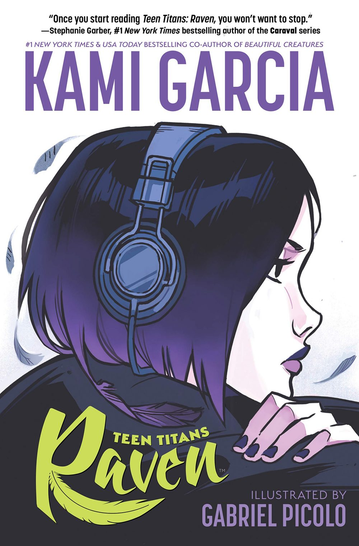 Teen Titans: Raven, copertina di Gabriel Picolo