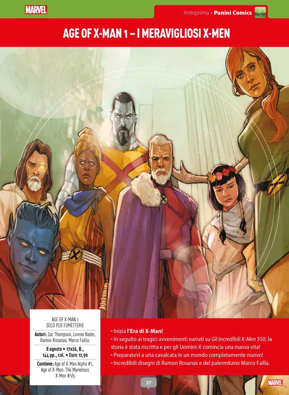 Age of X-Man su Anteprima