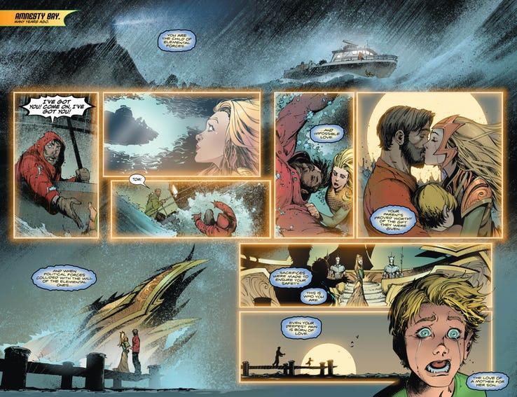 Aquaman #48, anteprima 02
