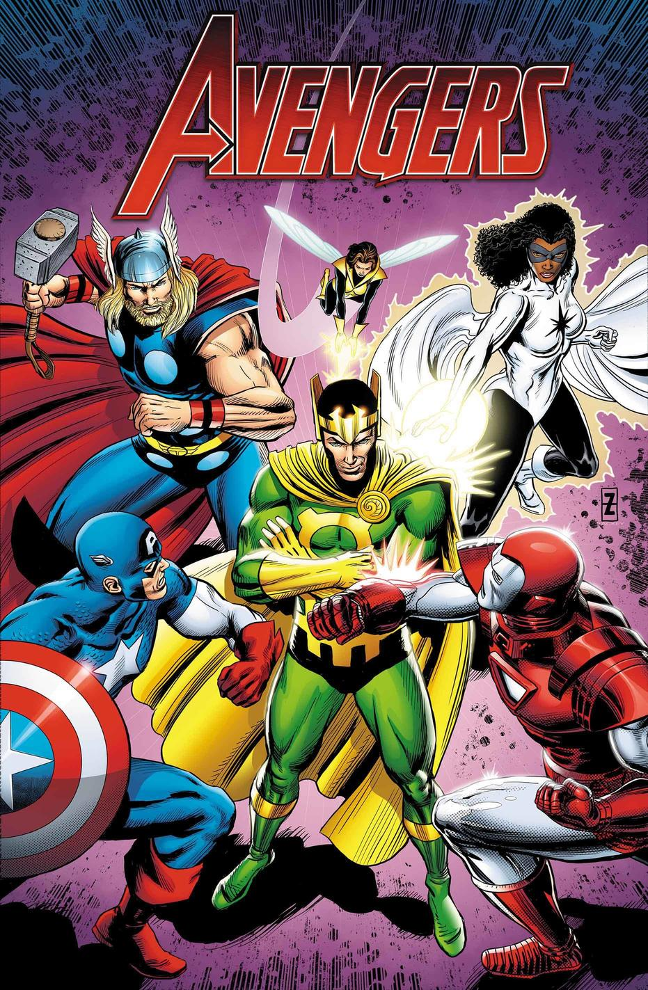 Avengers: Loki Unleashed!, copertina di Patrick Zircher