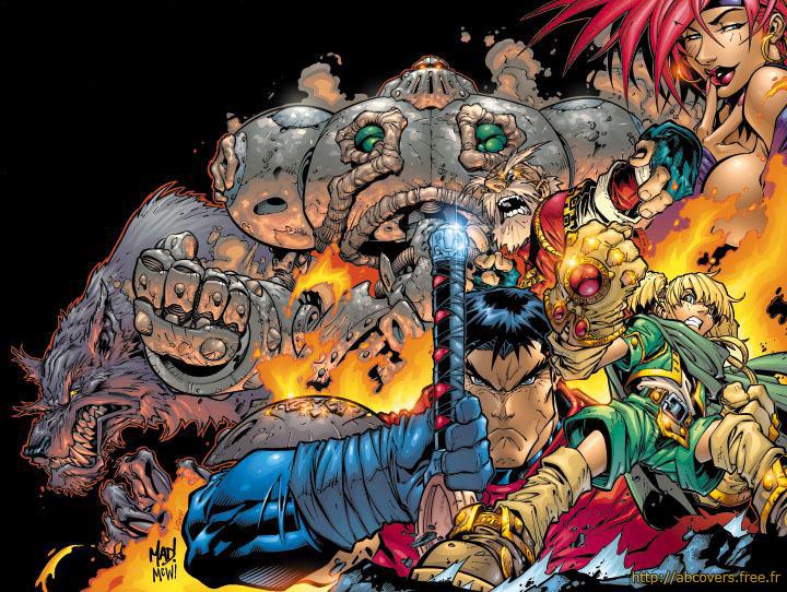 Battle Chasers #1, copertina di Joe Madureira
