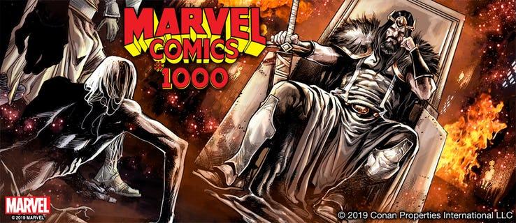 Conan il Barbaro su Marvel Comics #1000